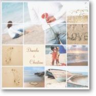 Šatôčky a topánočky - karta s motívom pláže, pekne