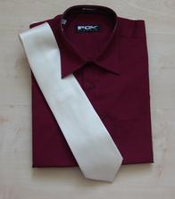 Ondráškova košile a kravata