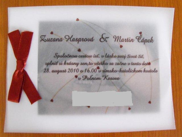 Zuzka & Maťko 28. 8. 2010 - už sa nám to kráti :) - *NEKOPÍROVAŤ!!!*