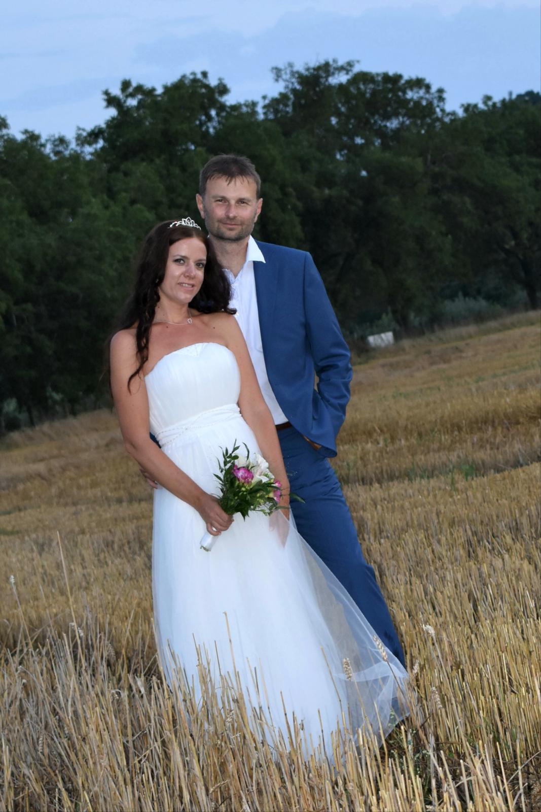 svatební šaty  vel.34-36 - Obrázek č. 1
