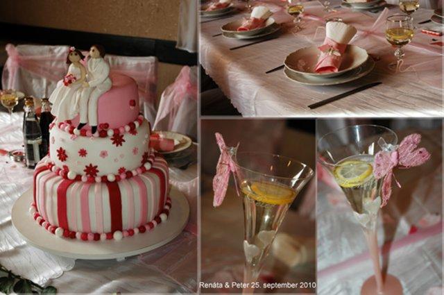 Naše predstavy - v reále torta č. 1