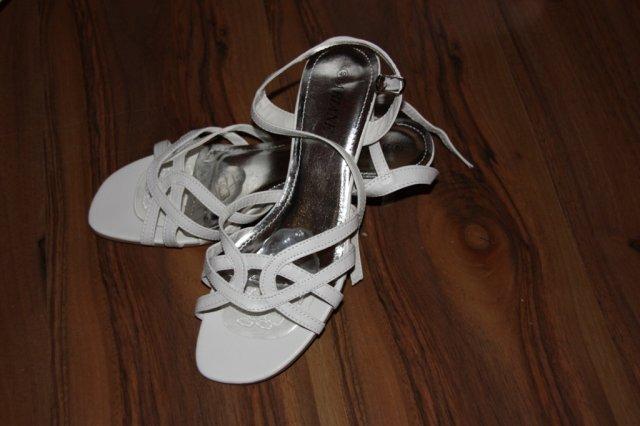 Přípravy na svatbu - botičky