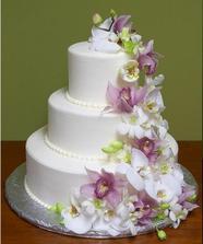 Váháme mezi těmito dorty - s živými květy...