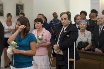Rodiče a svědkyně nevěsty