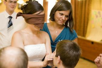 Nevěsta hledá ženicha podle nosu - našla :-)
