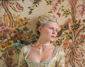 Kirsten Dunst ve filmu Marie Antoinette.