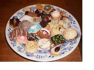 Vzorky cukroví...