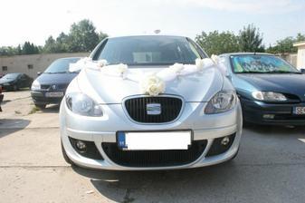 naše svadobné autí - dakujeme LUKI