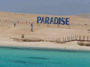Ostrov Giftun, naozaj ako v raji