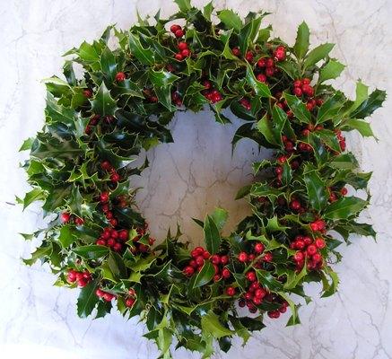 Vianoce - Cezmínový veniec vianočný