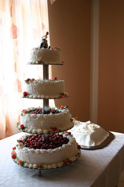 Lucia{{_AND_}}Peter - Svadobná torta.