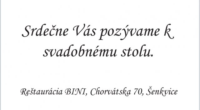 Lucia{{_AND_}}Peter - Pozvánka.