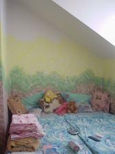 nově vymalovaná ložnice