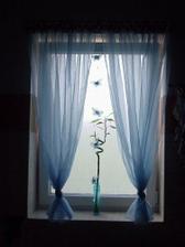 jarní koupelnové okno