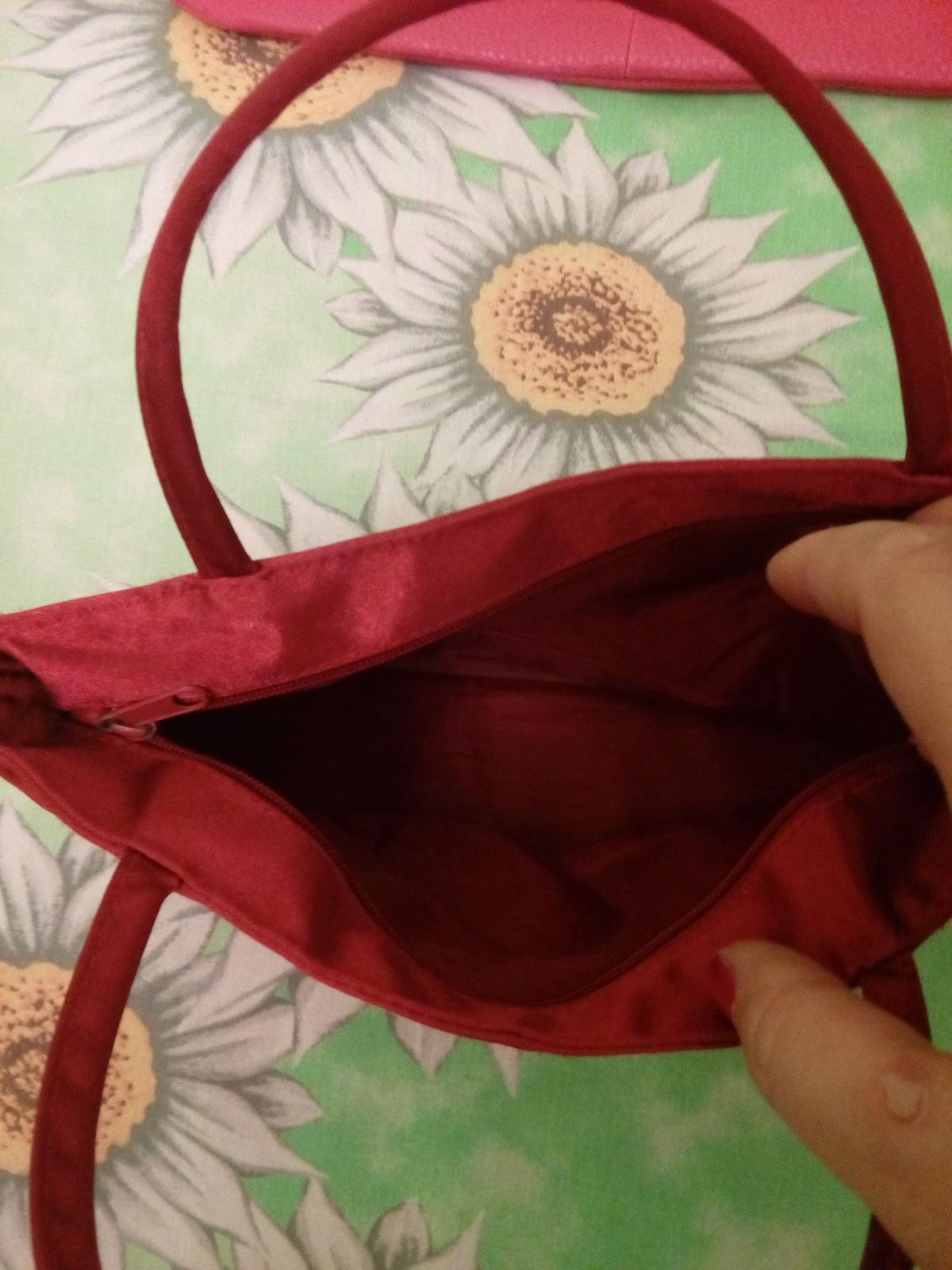 Satenova kabelka - Obrázok č. 2