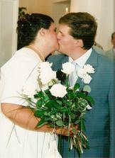 1. manželské políbení