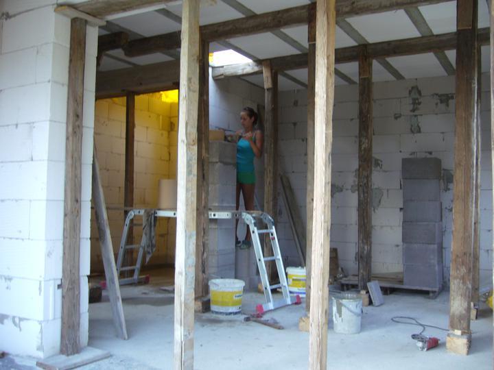 Sen sa stal skutočnosťou  :-) - S manželkou sme už odborníci na stavbu komínu