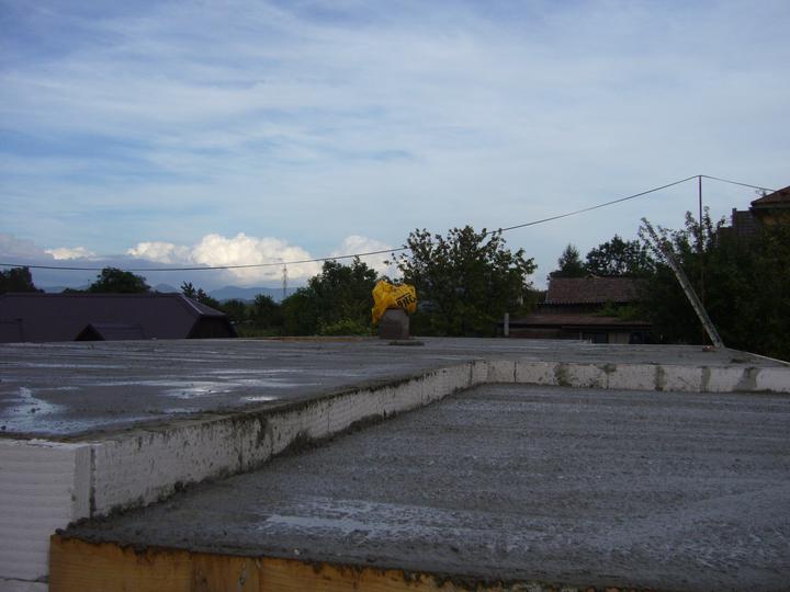 Sen sa stal skutočnosťou  :-) - 14 m3 betónu B20          16.august 2011
