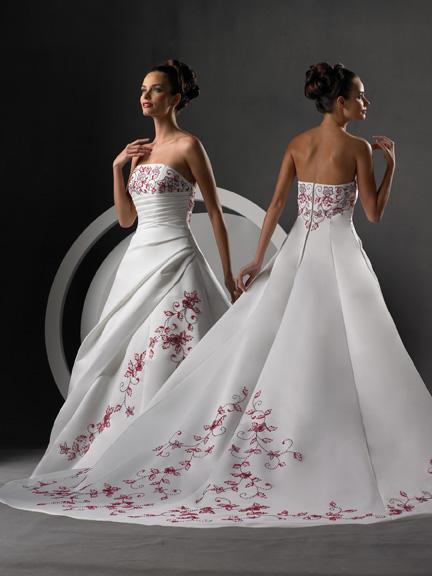 Krááásne červeno-biele šaty - Obrázok č. 41
