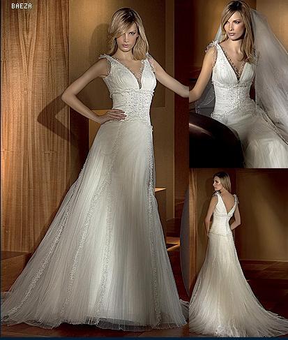 Svadobné šatičky... - san patrick 2008-model baeza