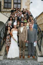 společná se svatebčany