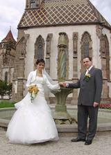 pred fontanou kaplnky sv.Michala