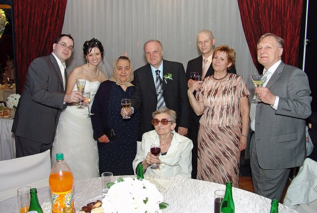 Katka{{_AND_}}Lubor Kalafusovi - s rodinou