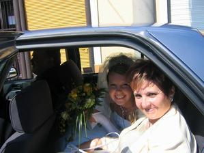 Ja s maminkou v autíčku