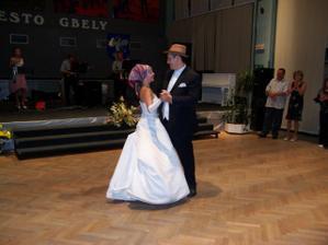 Prvý tanec - muž a žena