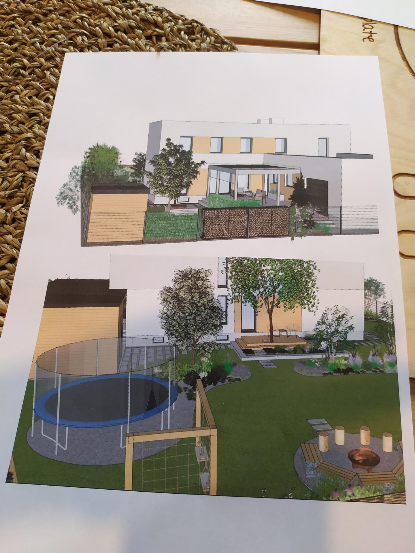 Riesime umiestnenie dreva na fasadu. co poviete? tu prednu cast nevieme rozhodnut - Obrázok č. 3