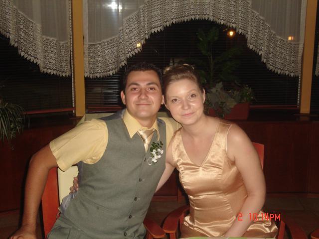 Cia a misko - na svadbe našej najlepšej kamarátky