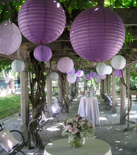 Purple Wedding Dreams..:o) - Takto myslene lampioniky:)