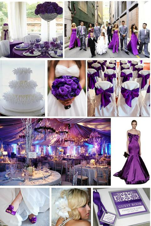 Purple Wedding Dreams..:o) - Fialove stuhy na stolicky..
