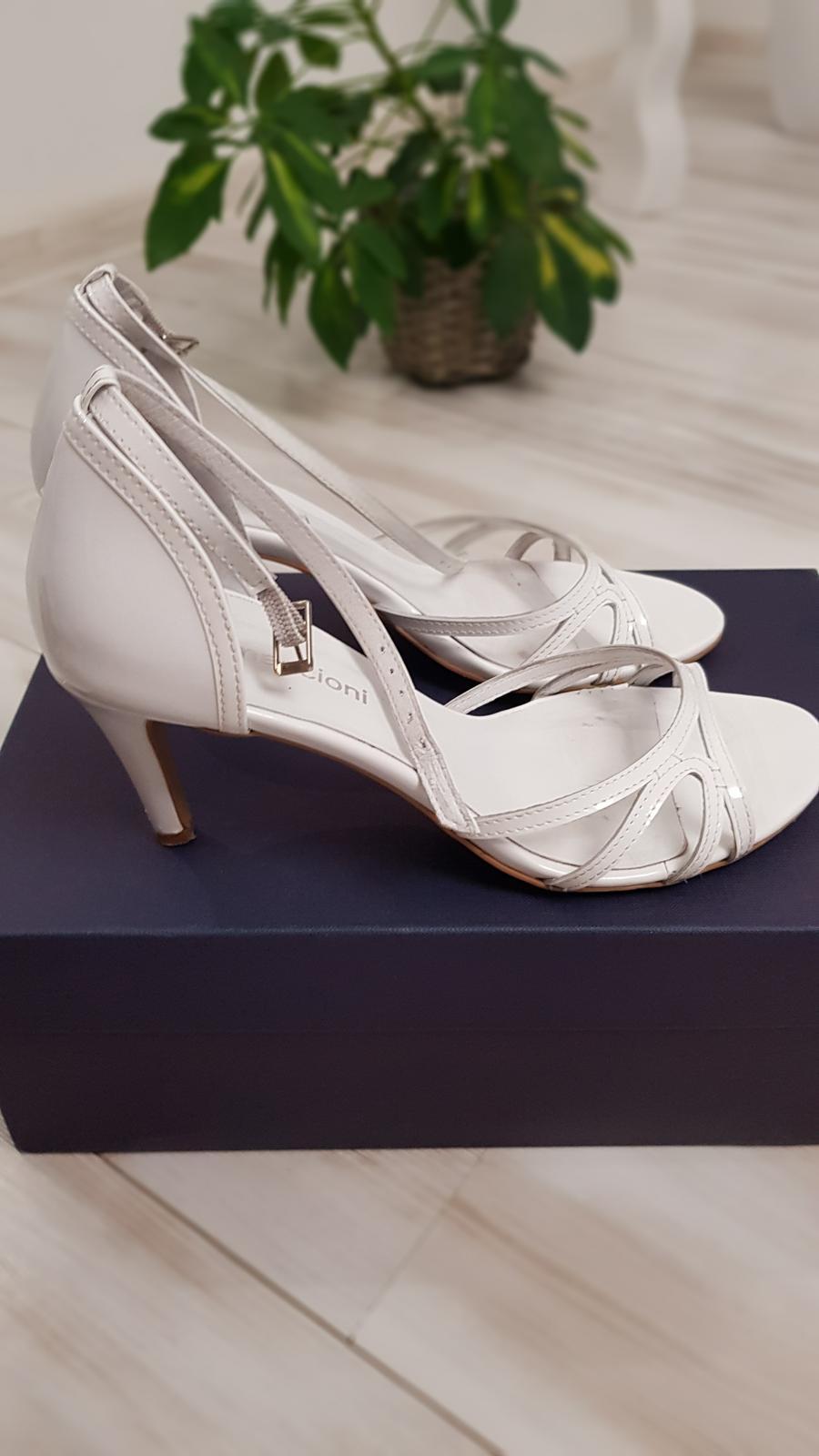 Svadobné topánky značky Maccioni - Obrázok č. 1