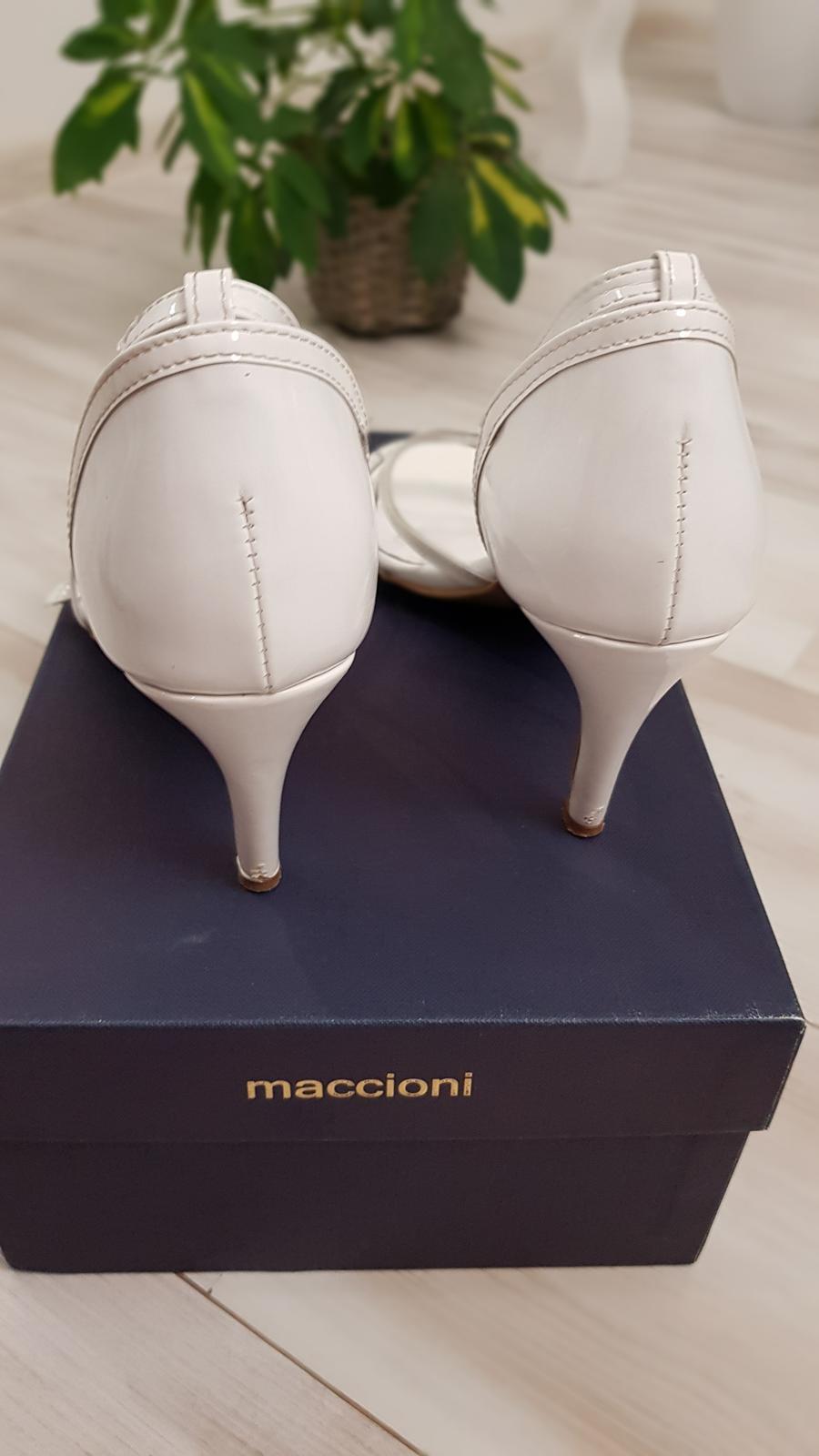 Svadobné topánky značky Maccioni - Obrázok č. 2