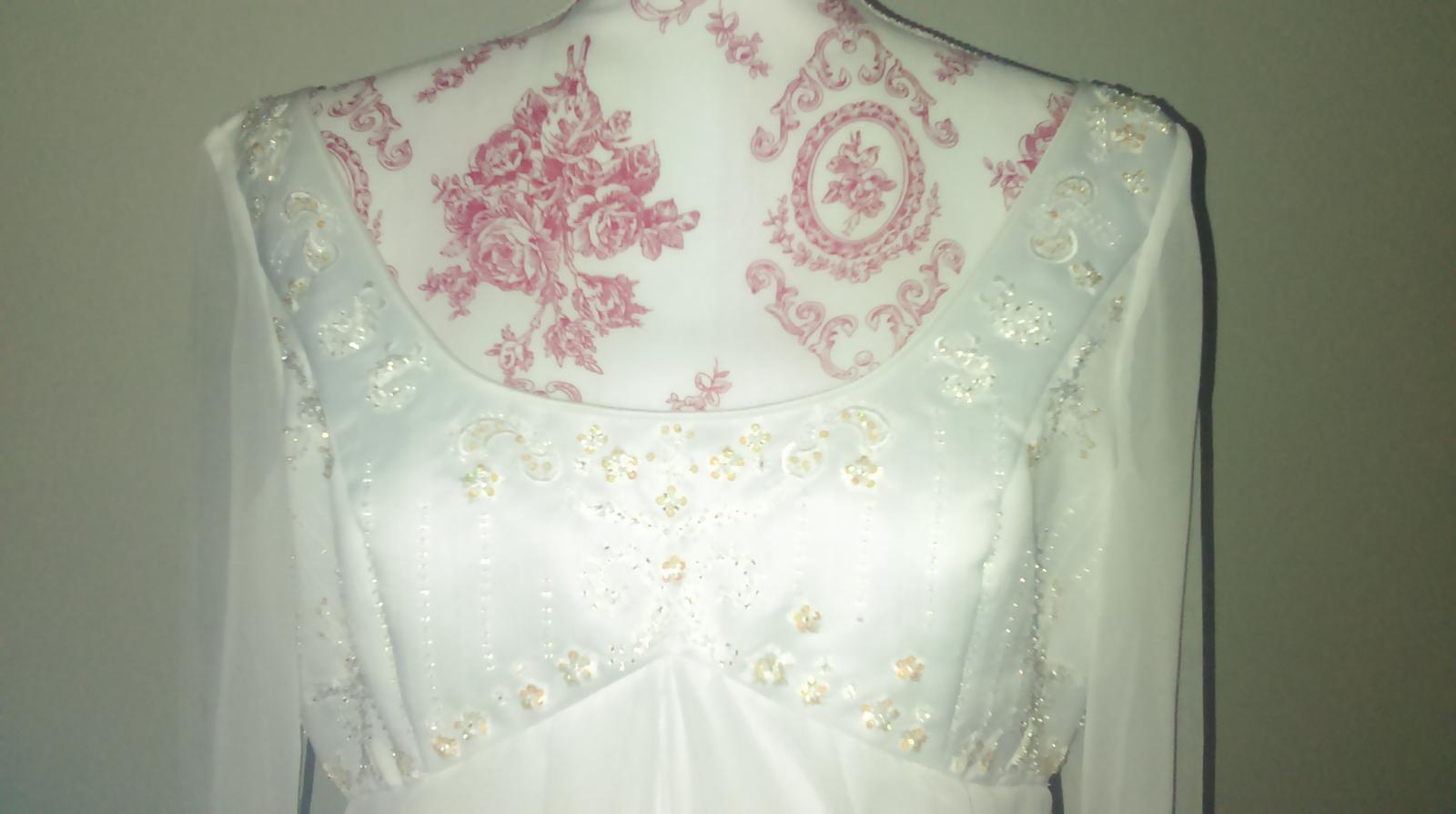 Svatební šaty Romantica vel. 40-44 - Obrázek č. 1