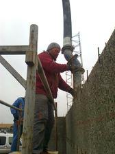 zalievame steny