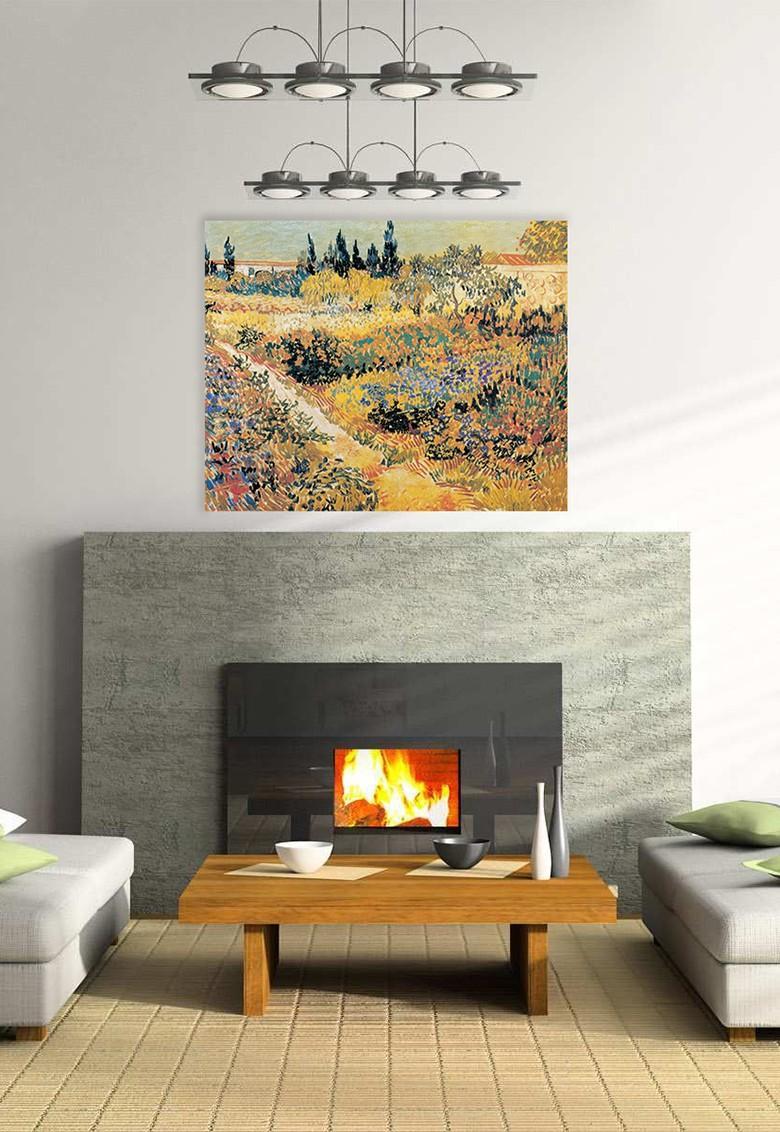 Obrazy - reprodukcie - reprodukcia Van Gogh Záhrada
