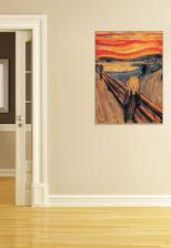 reprodukcia Munch Výkrik