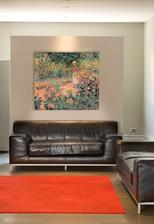 reprodukcia Monet Zahráda v Giverny