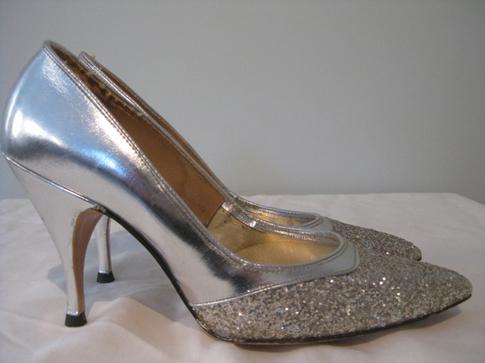 Svadobné topánočky od r.1900 - 1950
