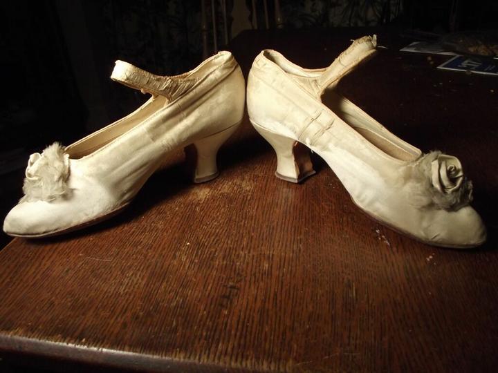 Svadobné topánočky od r.1900 - 1920