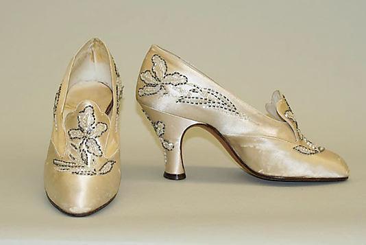 Svadobné topánočky od r.1900 - 1925
