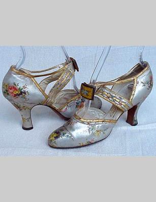 Svadobné topánočky od r.1900 - 1930