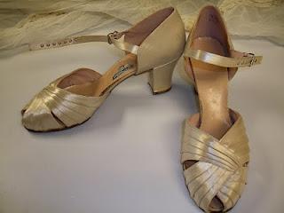 Svadobné topánočky od r.1900 - 1940