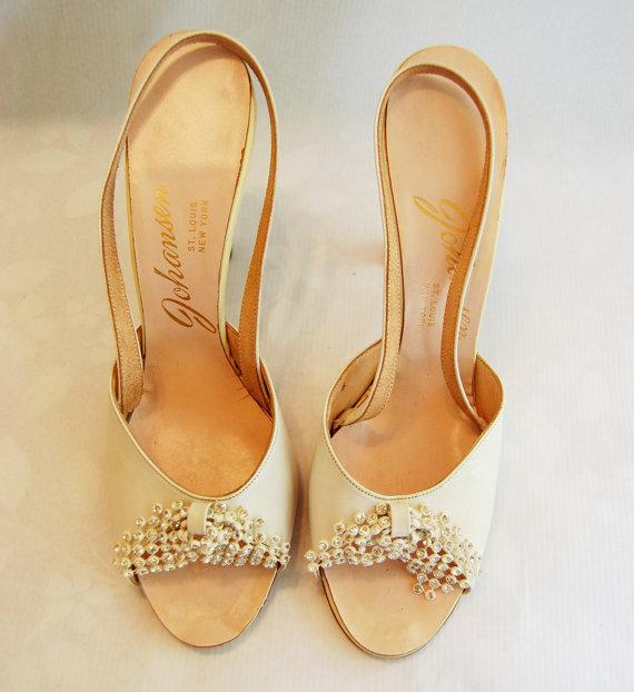 Svadobné topánočky od r.1900 - 1960