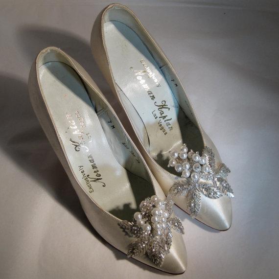 Svadobné topánočky od r.1900 - 1960-1970