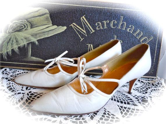 Svadobné topánočky od r.1900 - 1970