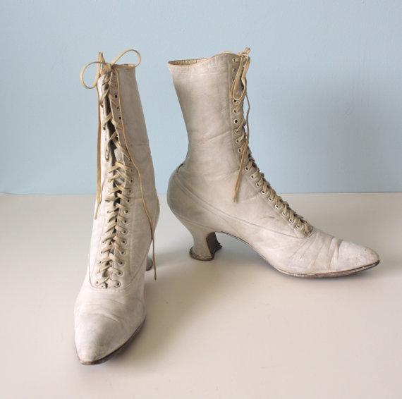 Svadobné topánočky od r.1900 - 1900