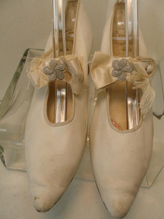 Svadobné topánočky od r.1900 - 1910